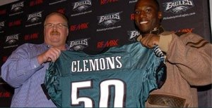 If you thought signing Clemons was a surprise - just wait till you see him play.