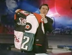 Stephen Colbert likes all 4 Philly teams' uni's