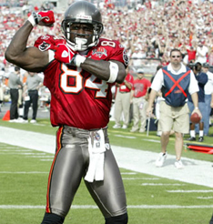At 37 years old, Joey Galloway is still the Bucs main weapon on offense.