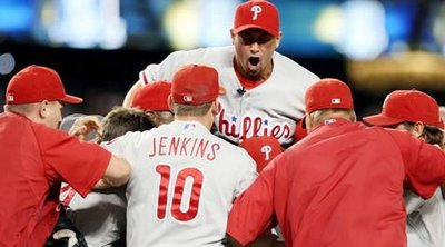 For the first time since 1993, the Phillies are in the World Series.