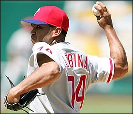 Ugueth Urbina is tearing it up in the Venezuelan Penal League.  Who Knew?