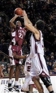 Temple Massachusetts Basketball