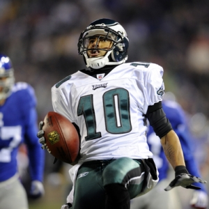 DeSean Jackson of the Philadelphia Eagles
